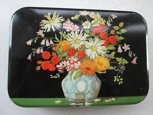 1930s Cadburys Floral Toffee Tin