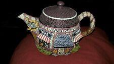 "Hometown Teapot Cottage Hardware Store resin 3"" X 4"""