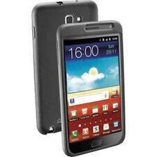 Custodia in Silicone Nera Penguyn per Samsung Galaxy Note + Pellicola Nuovo