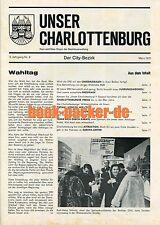 Cdu-HeFT: nuestro Charlottenburg nº 6 (Parlamento de Berlín casa elección 1971)
