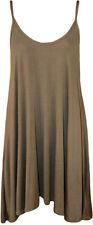 Kurze Größe 46 Damenkleider aus Viskose
