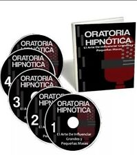 Oratoria Hipnotica audio Curso + Pdf + Regalo + Video LIBRO DIGITAL formato PDF