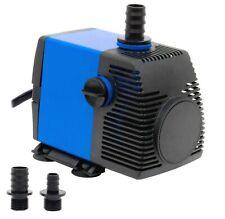 800 GPH Submersible Water Pump Aquarium Fish Tank Powerhead Fountain Hydroponics