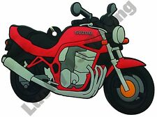 Suzuki Bandit rubber key ring motor bike cycle gift chain keyring GSF 600 1200