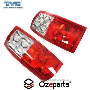 Set Pair Tail Light For Commodore VY2 VZ Ute Wagon Mod Socket to Fit VT VX VU VY