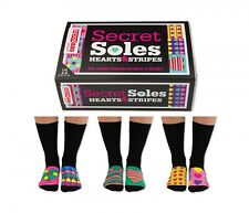 United Oddsocks Secret Soles Ladies Novelty Socks - Friends Fun Gift Idea