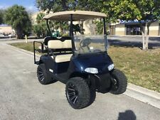 New listing  REFURB blue 2012 ezgo 48v RXV 4 seat Passenger golf cart alloy rims lifted FAST
