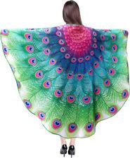 Peacock Cloak, Adults, Men's, Women's, Fancy Dress, Role Play, Summer Fun