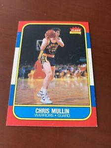 1986-87 Fleer #77 Chris Mullin Rookie Card RC HOF