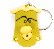 Disney ALICE IN WONDERLAND 3D Figural Keyring Series KNOB KEYCHAIN Doorknob