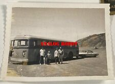 1970'S Family Pic / 1950 Gillig Coach Bus / Model 280A50 / Rv Conversion Corvair