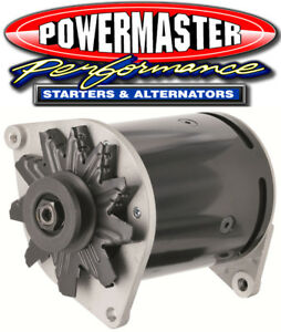 Powermaster 82101 PowerGEN Alternator 75 Amp Ford One Wire Swing Mount 12V Black