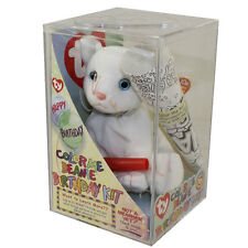 TY Beanie Baby - COLOR ME BEANIE **THE CAT** (Complete Kit) (7.5 inch) - New