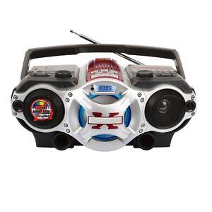 Supersonic SC-1495BT Portable Audio System Bluetooth/AM/FM/SW/USB/SD/MicroSD/AUX