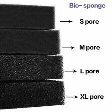 Cotton Sponge Aquarium Filter Fish Tank  Pond Black Foam sponge Tank