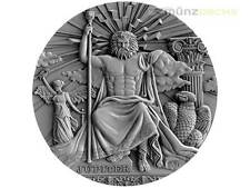 2 $ Dollar Roman Gods Jupiter Ultra High Relief Niue Island 2 oz Silber 2016