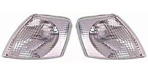 VW Passat B5 Clear Turn Signals Corner Lamps PAIR 1997-2001