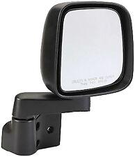 Jeep YJ & TJ - Mirror and Arm, Right - Black - 55395060AB - 1987/2006 - TJ Style