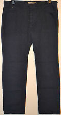 Para Hombre M&S North Coast pierna recta Jeans Denim Talla W44 L33 azul oscuro BNWT