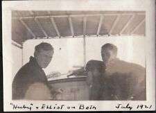 VINTAGE PHOTOGRAPH 1921 INTERIOR CABIN-CRUISER BOAT WESTBROOK CONNECTICUT PHOTO
