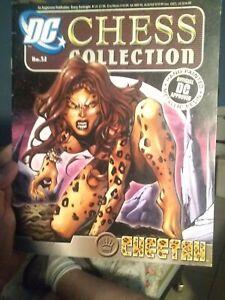 Eaglemoss Chess * Cheetah * book only #52  DC Comics