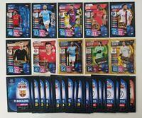 2020 UEFA Champions League Soccer Cards - 50 cards inc Ronaldo, Messi, Neymar