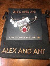 Crystal bangle bracelet-Made in America Alex and Ani July Swarovski birthday