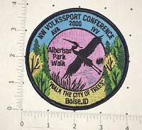 Albertson Park Walk Patch - NW Volkssport Conference - Boise, ID 2000 AVA IVV
