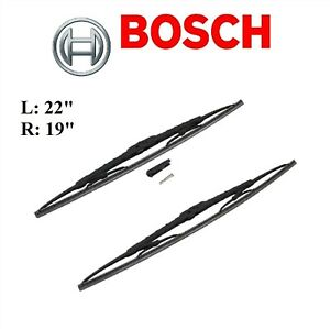 2PCS BOSCH FRONT L&R D-Connect Wiper Blade For NISSAN 370Z 2017-2020