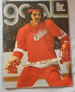Philadelphia Flyers Vs Detroit Red Wings Program March 7 1974