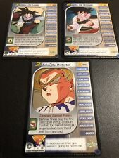 Dragon Ball Z CCG Goku Lvl 1-3 Trunks Reforge Set!!