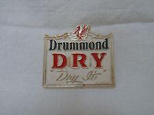 "Rare Vintage ""Drummond Dry"" Beer Pin Badge - VGC! - Great Canadian beer!"