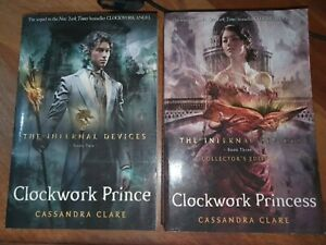 Infernal Devices Series Cassandra Clare Clockwork Prince/Princess LG Paperback