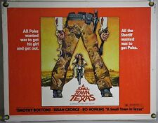 A SMALL TOWN IN TEXAS ROLLED ORIG HALF-SHEET MOVIE POSTER DREW STRUZAN ART(1976)