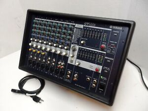Yamaha EMX312S 12-Channel Powered Analog Mixer Amplifier Mic Effect EMX312SC 600