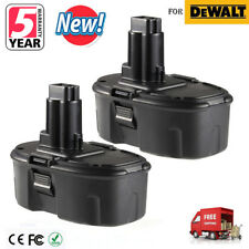 2 Pack 18 VOLT Ni-CD Battery for DeWALT DC9096 DW9095 DW9096 18V Power Tools New