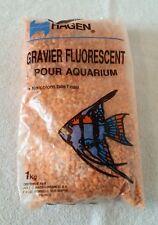 Accessoire de décoration pour aquarium Gravier fluorescent 1 kg