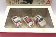 CHORO-Q TOYOTA RALLY SPORT SET A70 SUPRA CELICA GT-FOUR ST165 ST185 Pullback car