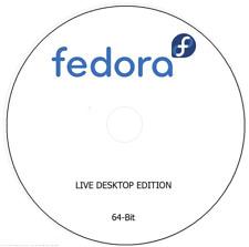 Fedora 28 Linux Plasma Desktop - Install/Live DVD (64-bit)  DVD