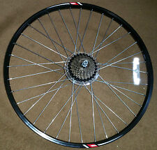 """Rear Cycle Wheel - NEW  26""""  Disc Brake - incl 7 speed Shimano Reduced"""