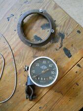 Sehr alter Fahrrad Tachometer, ca. 1930er Jahre, Komplett.