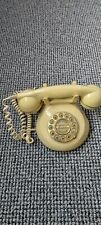 Vintage The Knightsbridge Landline Phone White/Cream Push Button Corded Phone
