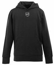 NEW Los Angeles Kings YOUTH Boys Signature Hooded Sweatshirt - Black - Kids YL