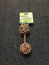 New Farmers Market Guinea Pig Barbell Toy Small