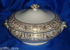 Superb Wedgwood GOLD FLORENTINE Tureen Mint Unused Condition