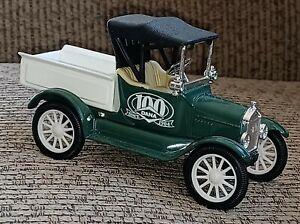 Ertl METAL 1918 Ford Runabout Die Cast Vehicle TRUCK 100 Years Dana TOLEDO OHIO