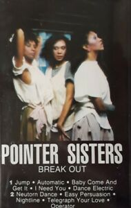 Pointer Sisters-Break Out Cassette.1983 Planet FK 84705.Jump/Automatic+