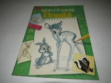 Disney How To Draw Bambi Walter Foster