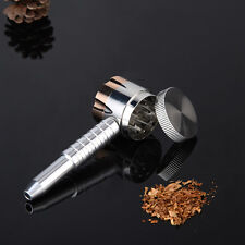 Pipe-shaped Grinders Zinc Alloy Herb Grinder Metal Crusher New