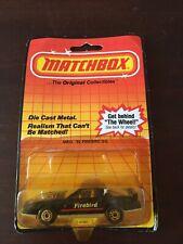 """MB 12 `82 Firebird S/E Matchbox """"The Original Collectibles"""""""